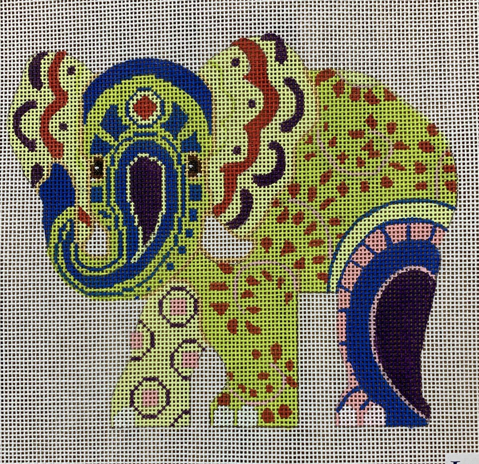 LL522F Paisley Elephant