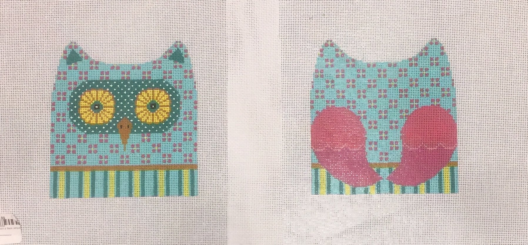 Owl Front & Back (striped)
