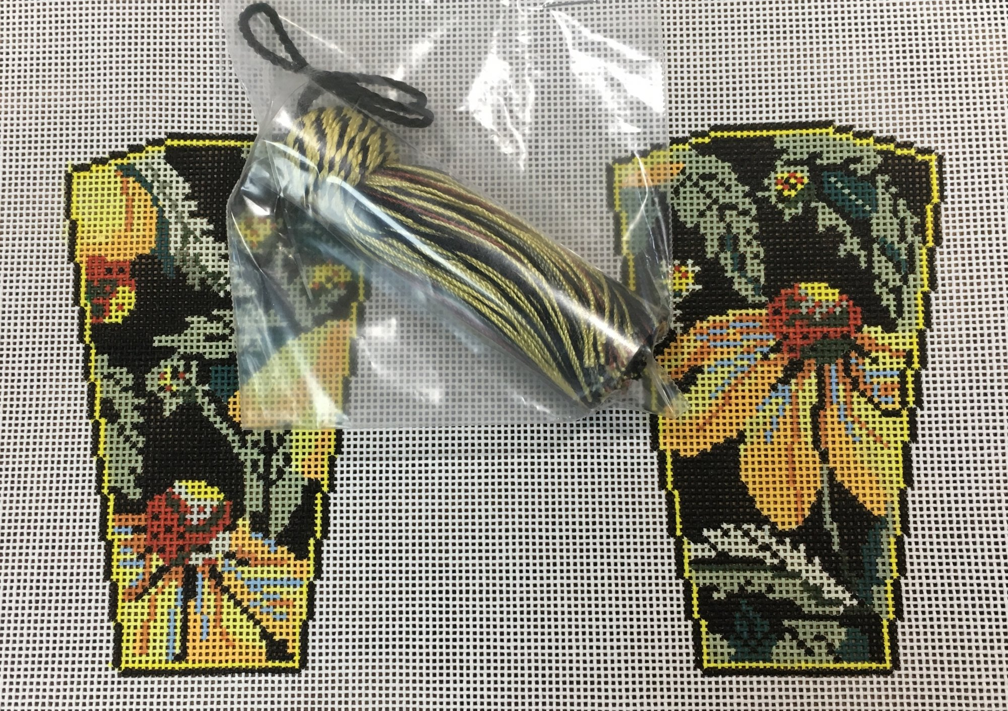 W-Yellow Echinacea Scissor Case