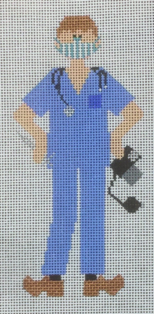 Doctor/Nurse in Mask - with stitch guide