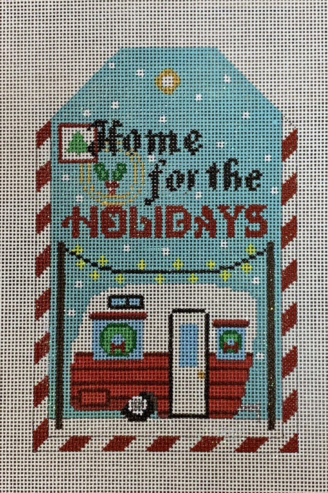 Home for the Holidays Gift Tag