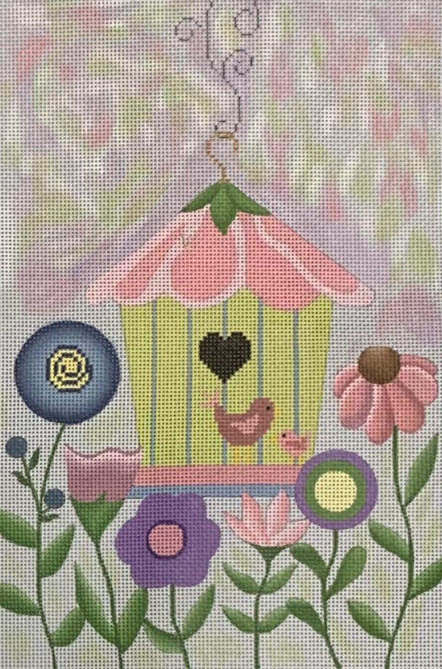 Butterflies And Birds Birdhouse