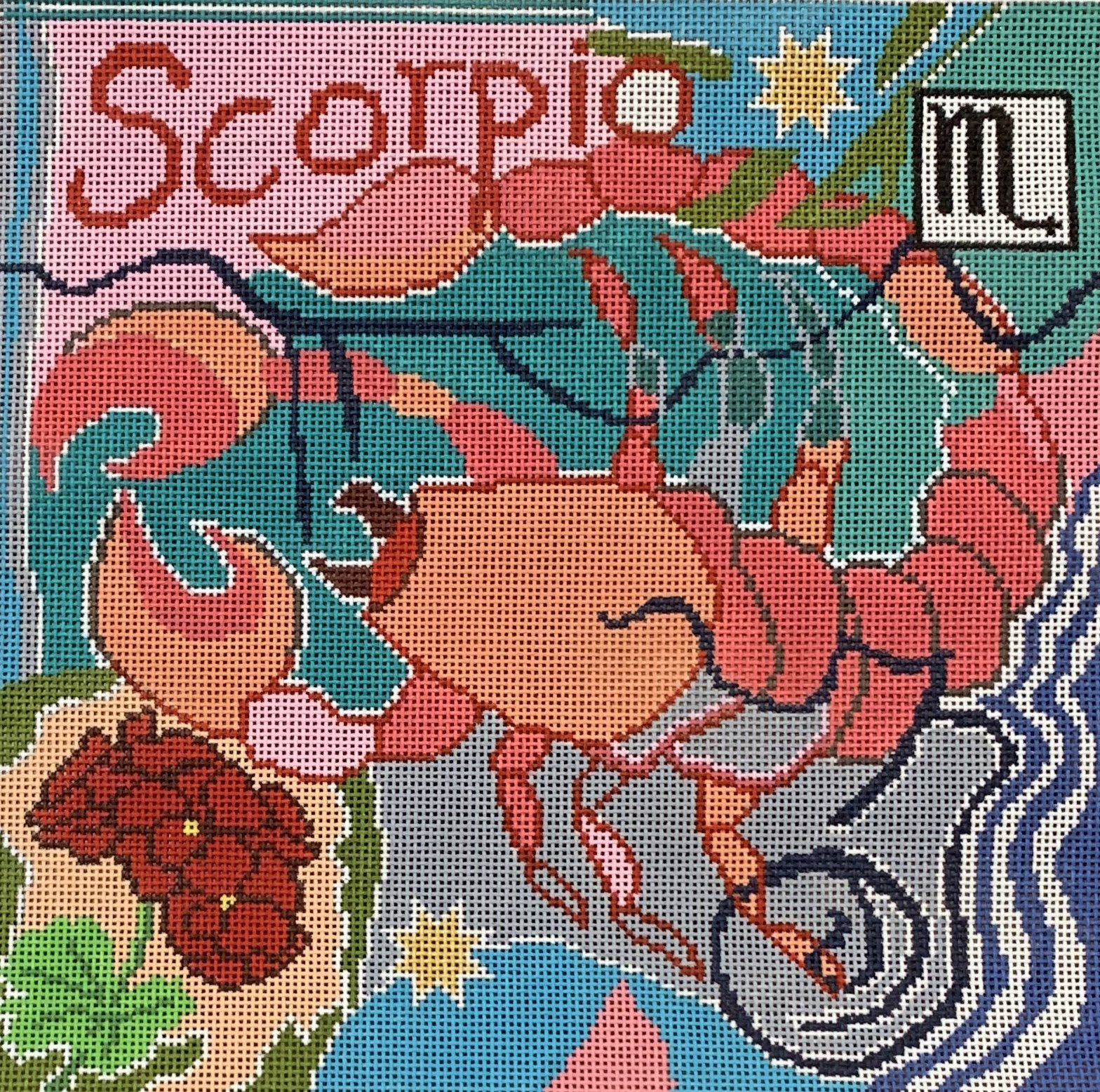 Scorpio Zodiac Square