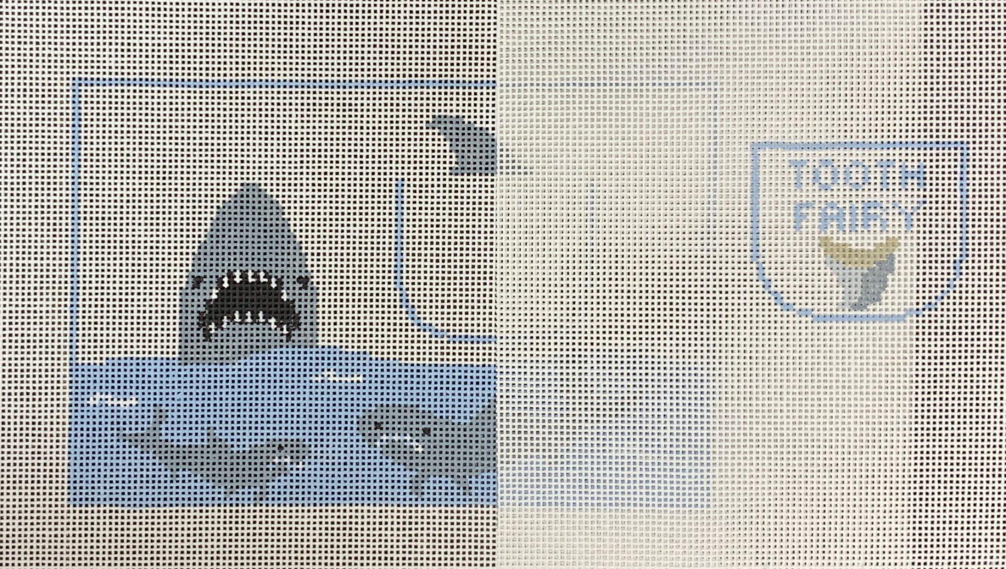 Shark Toothfairy Pillow
