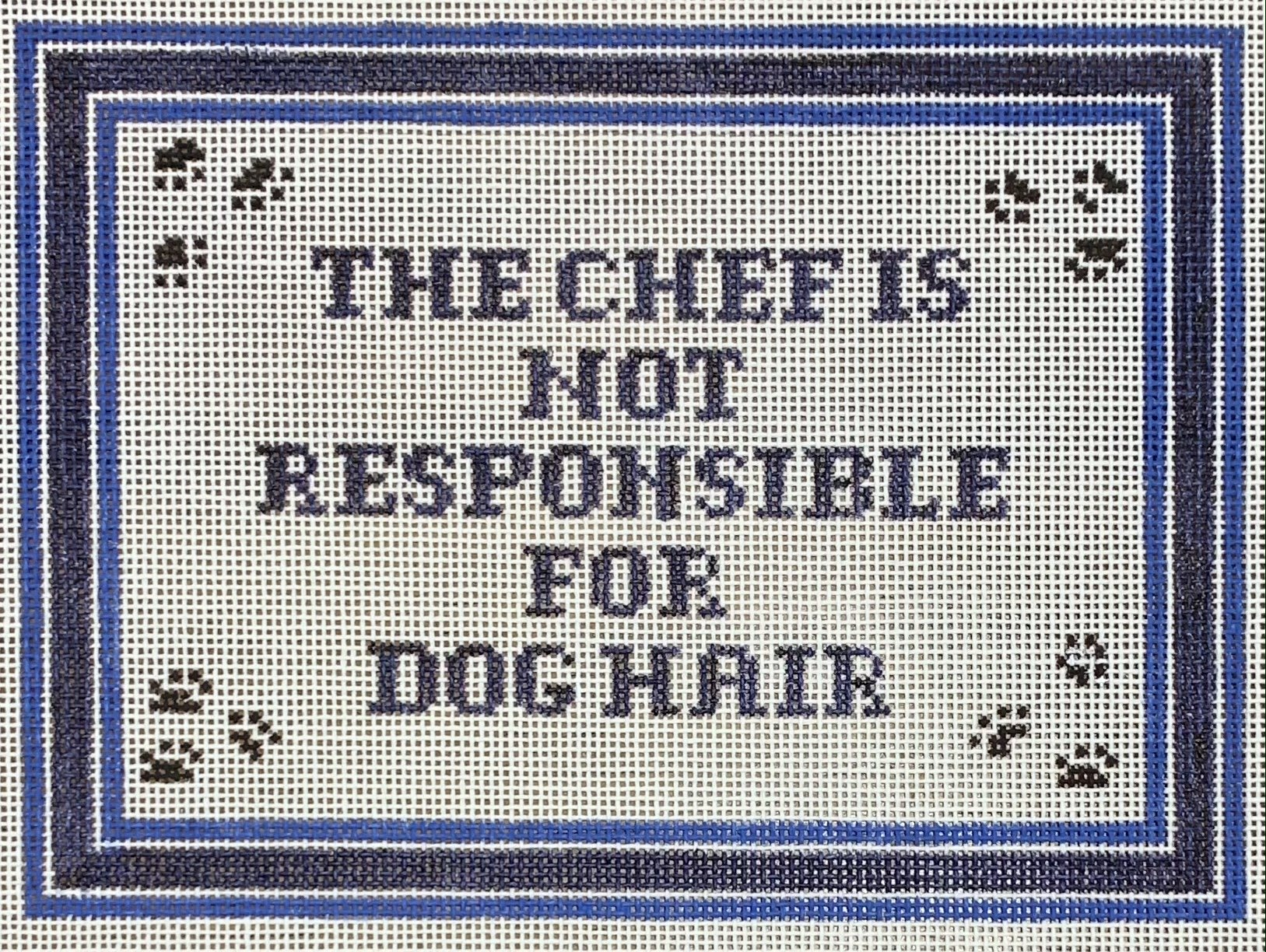 Chef/Dog Hair