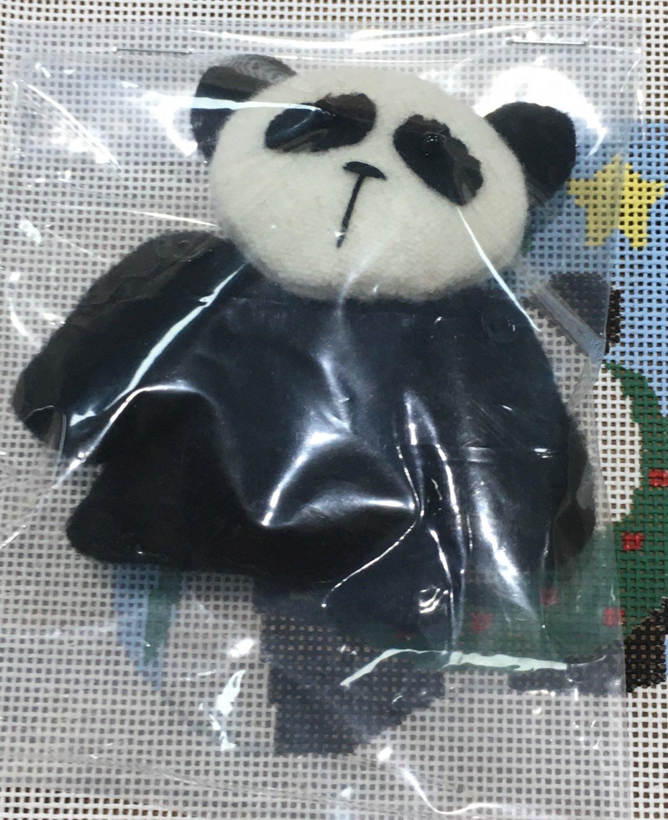 Panda, Wreath w/Panda
