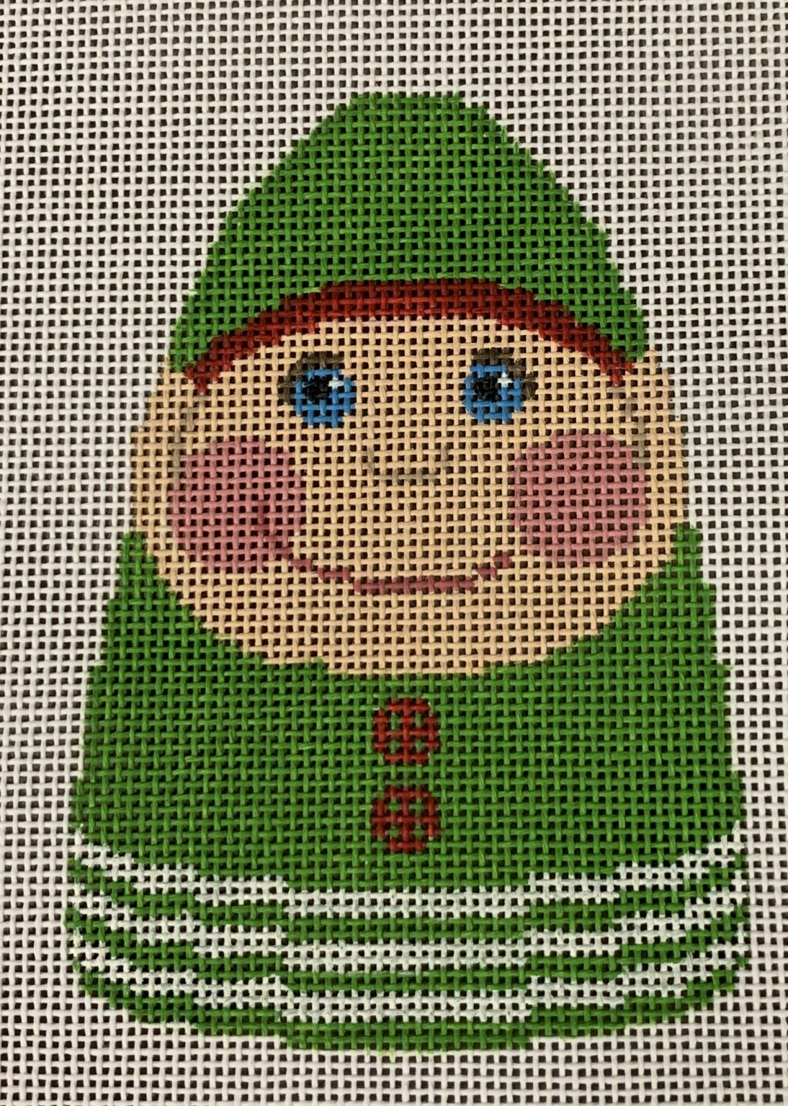 LL527O Pudgy Elf Ornament