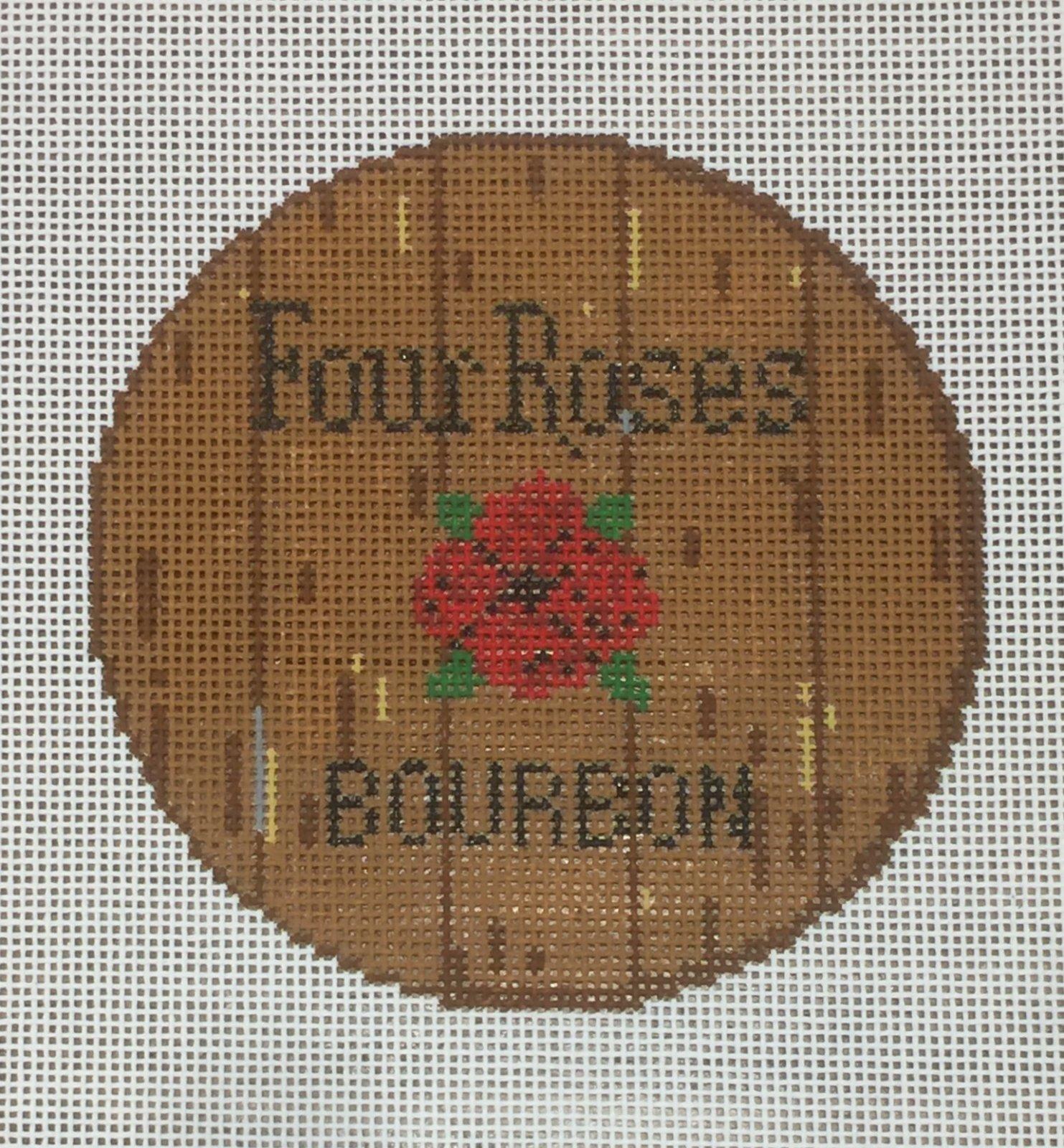 Bourbon Barrel Head - Four Roses