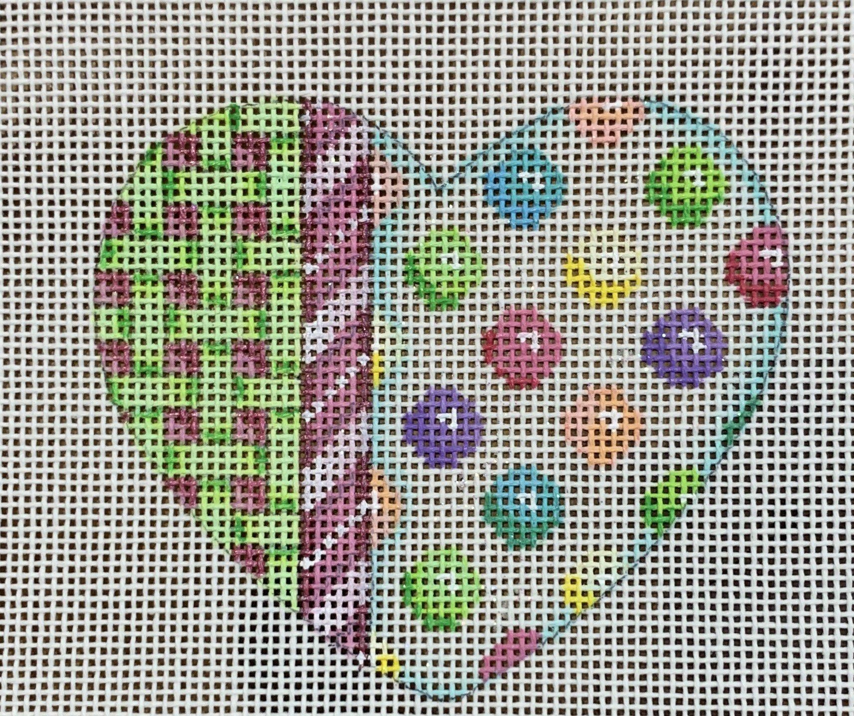 ATTSHE835 Lattice/Cane/Coin Dot Heart 35.x3  18