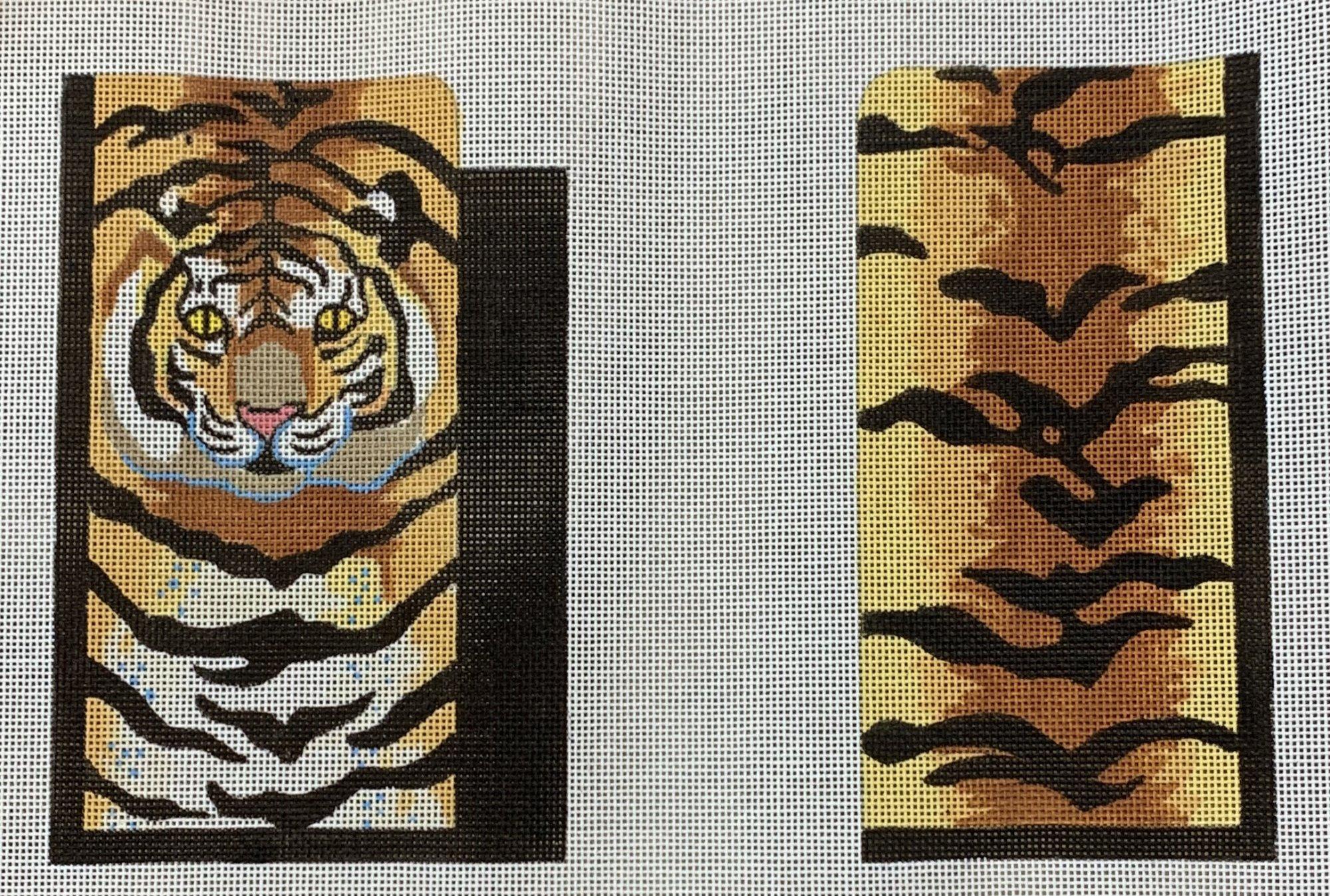 Tiger Eyeglass Case