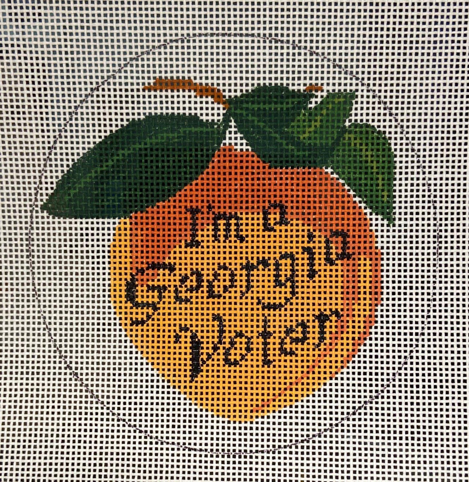 GA Voter Ornament