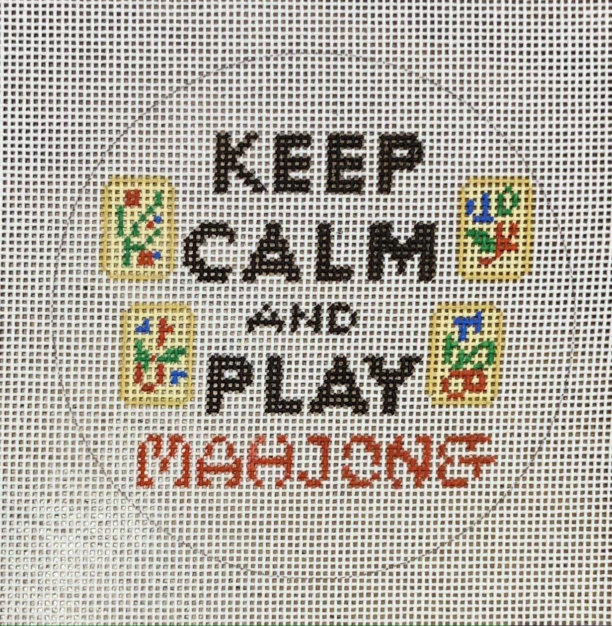 Keep Calm & Play Mah Jong