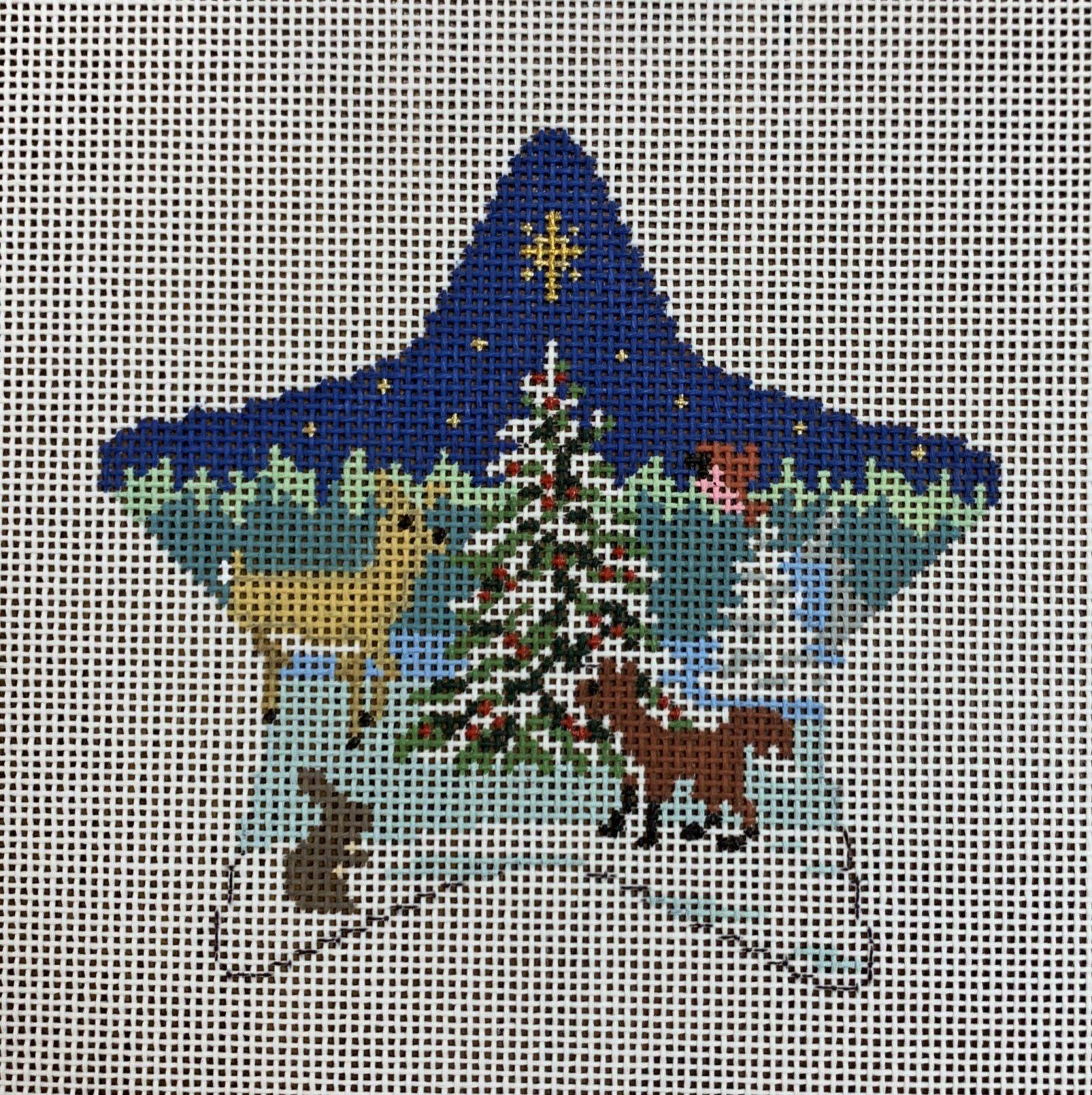Star Forest Tree & Animals