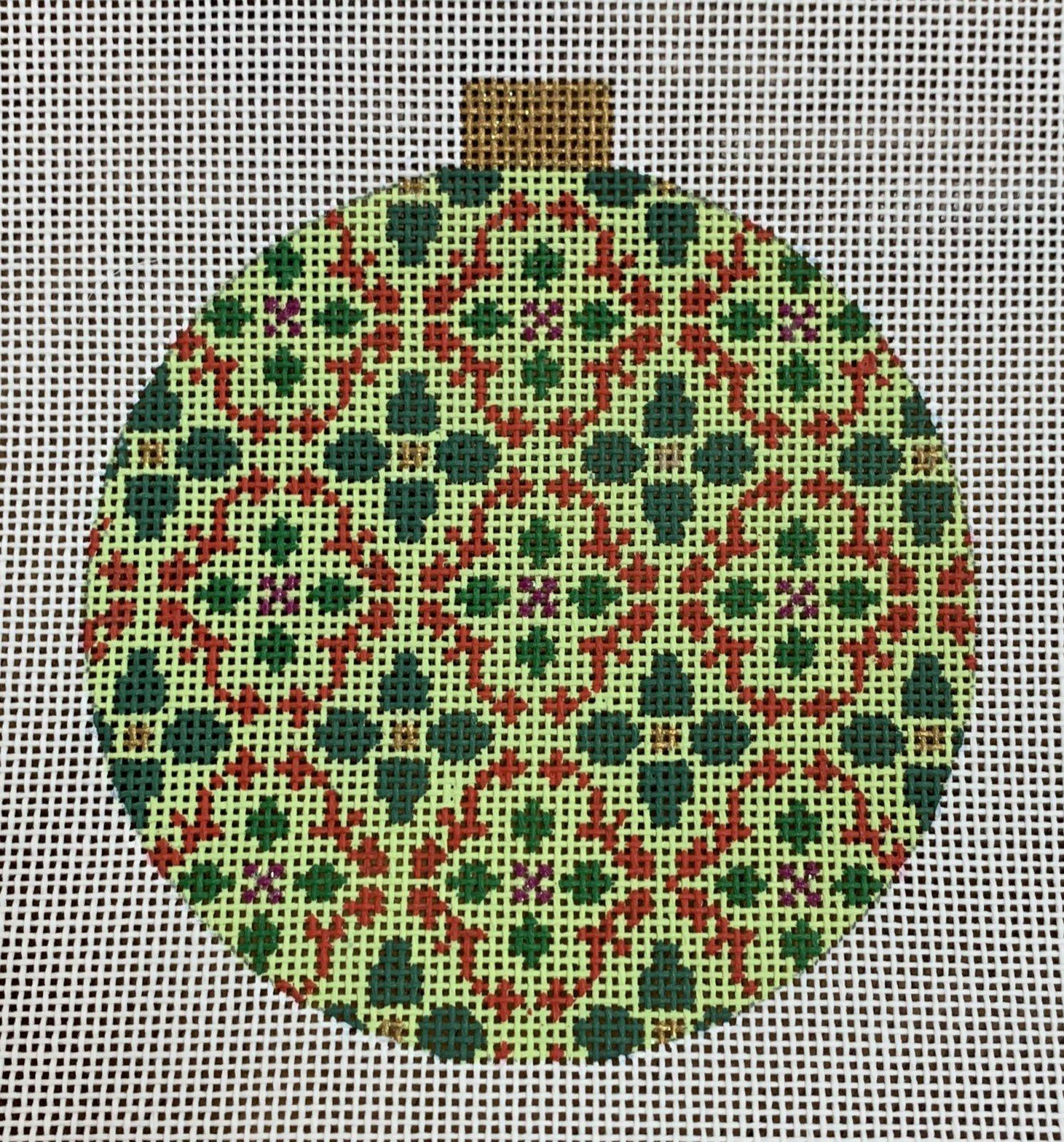 Florentine Bauble - Red/Green