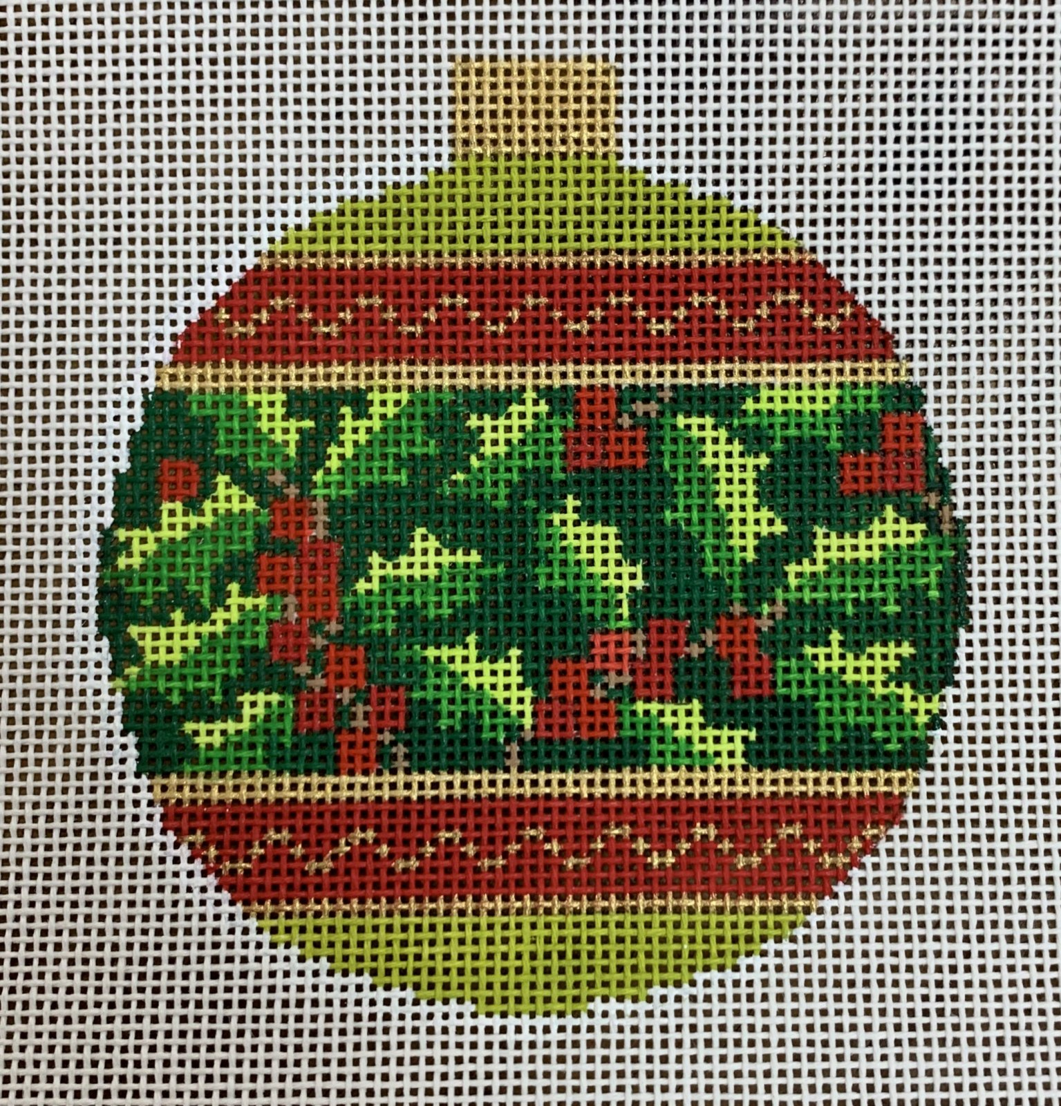Holiday Bauble - Holly
