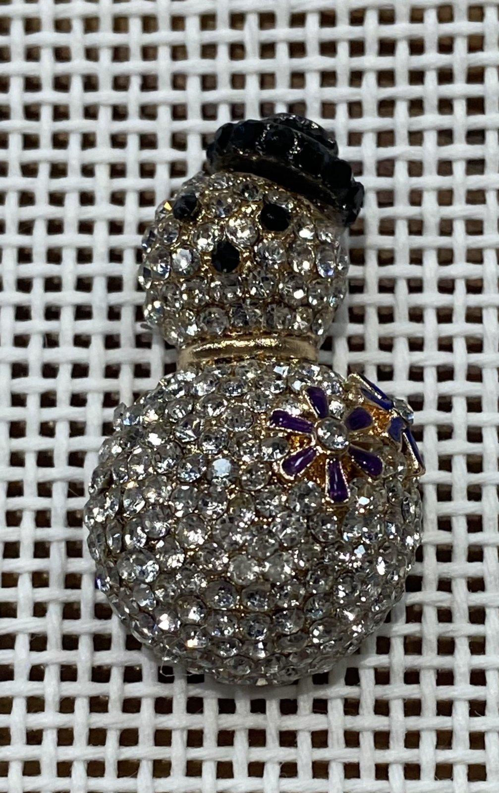 Snowman Needle Minder Magnet