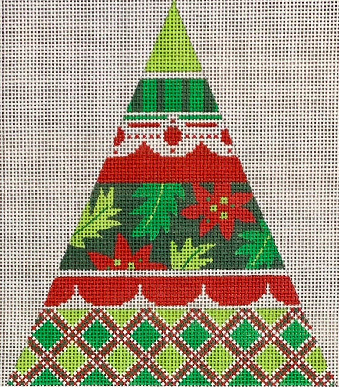 Small Christmas Pattern Tree