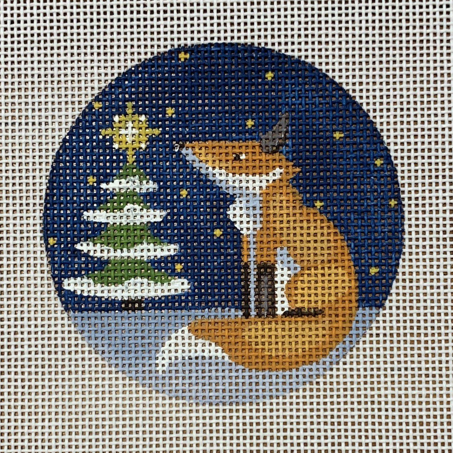 Fox at Tree