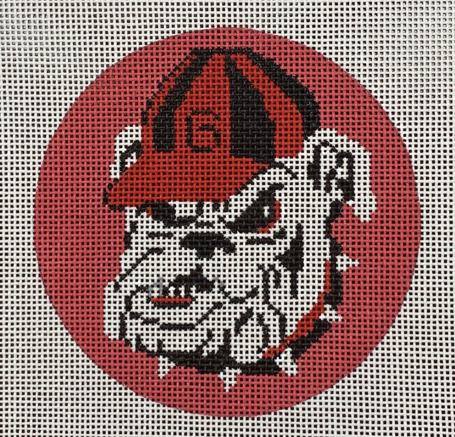 Georgia Bulldog Round