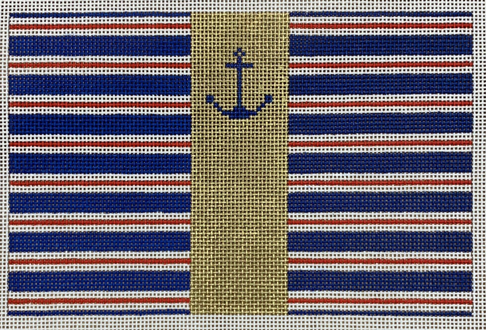 Anchor & Stripes Clutch
