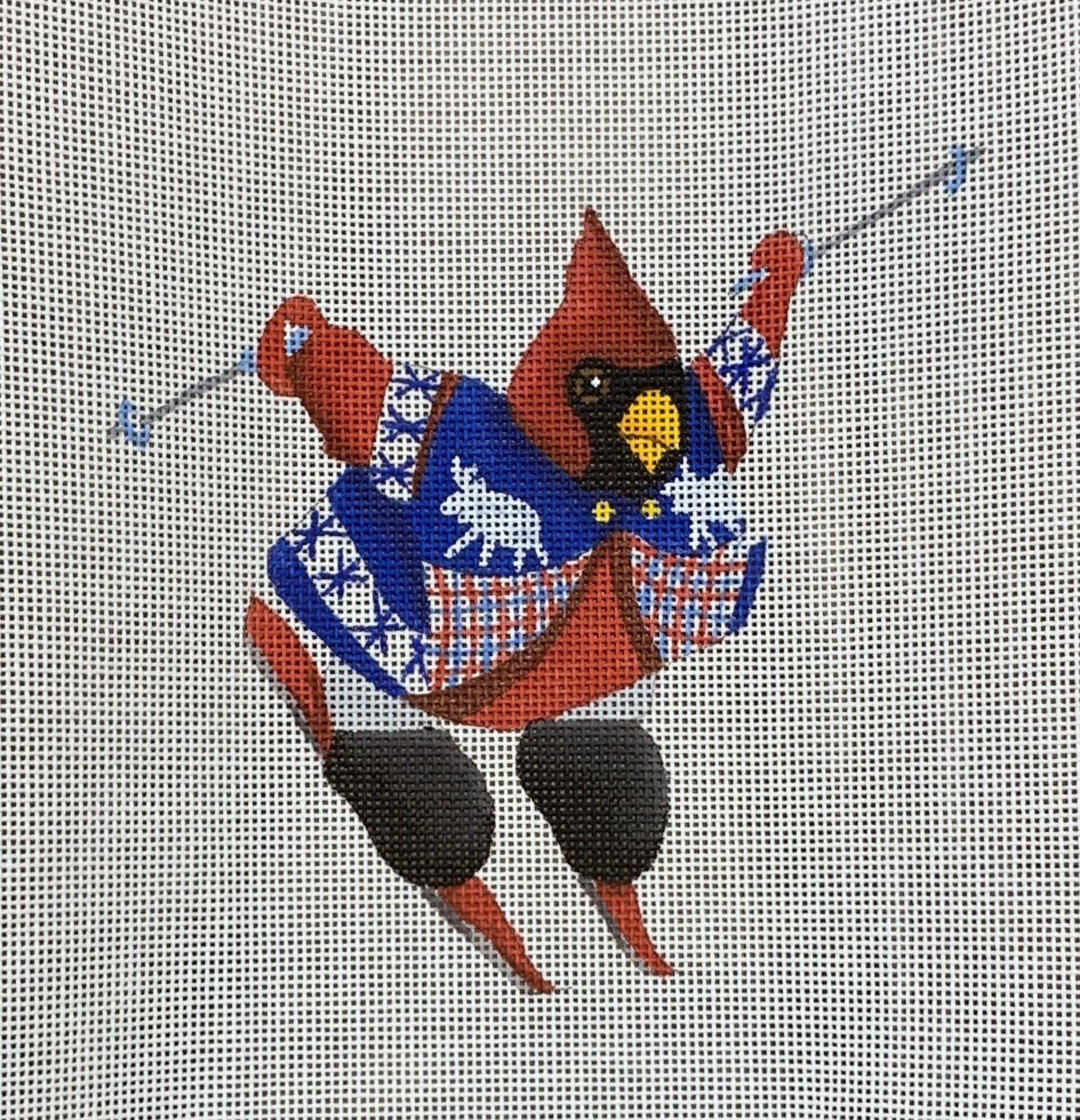 Skiing Cardinal