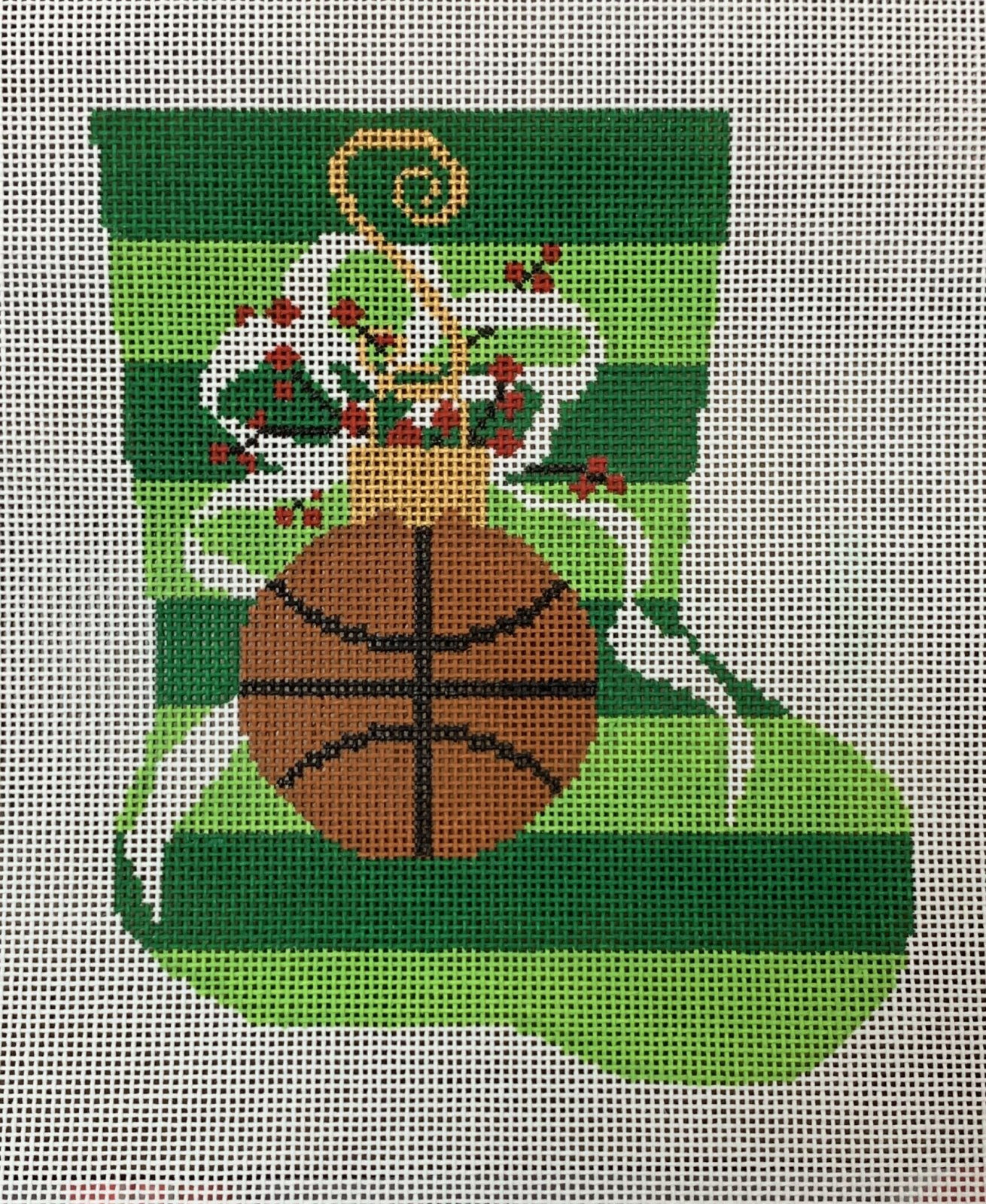 Mini Stocking - Basketball