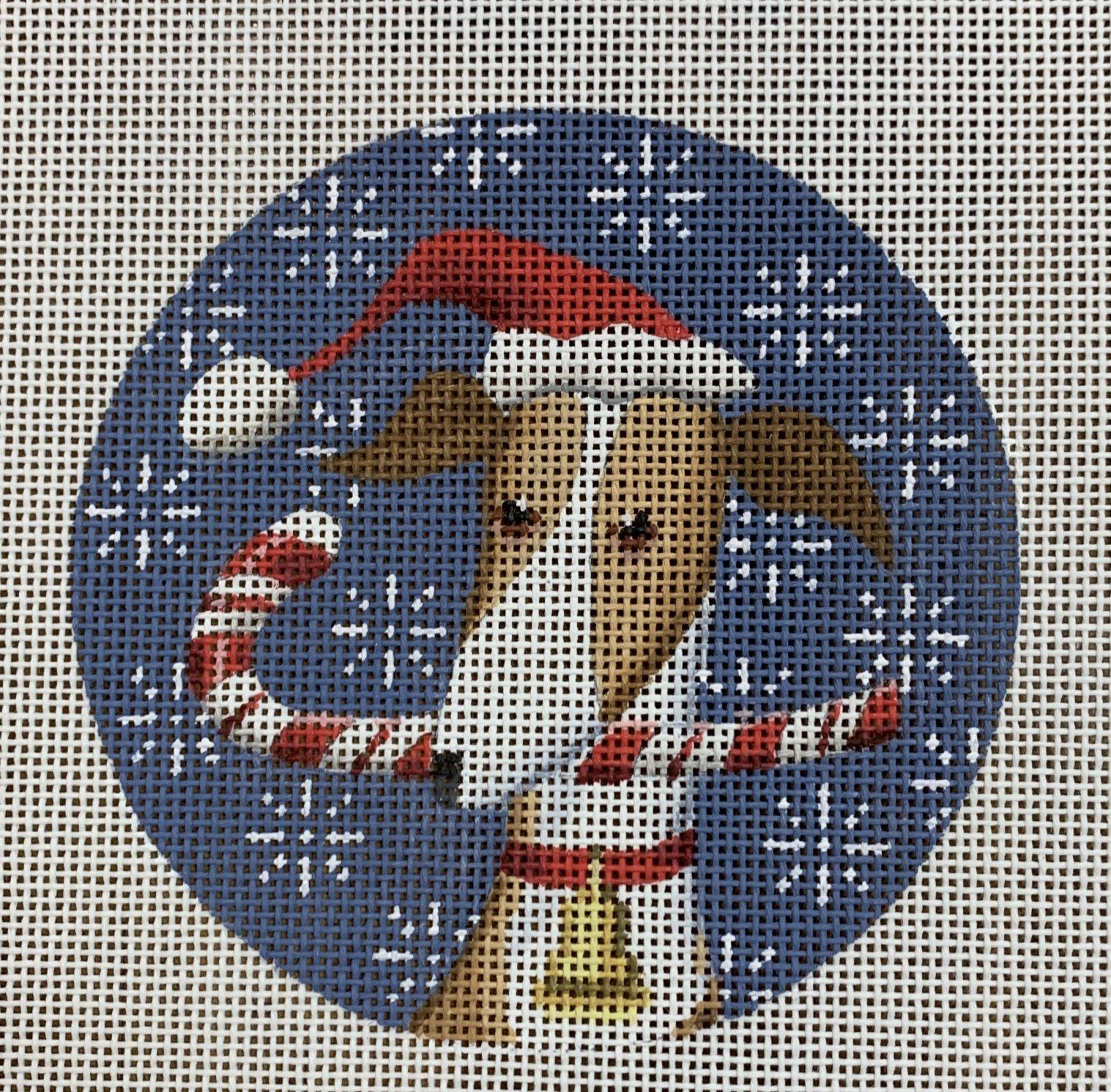 Greyhound Christmas Circle