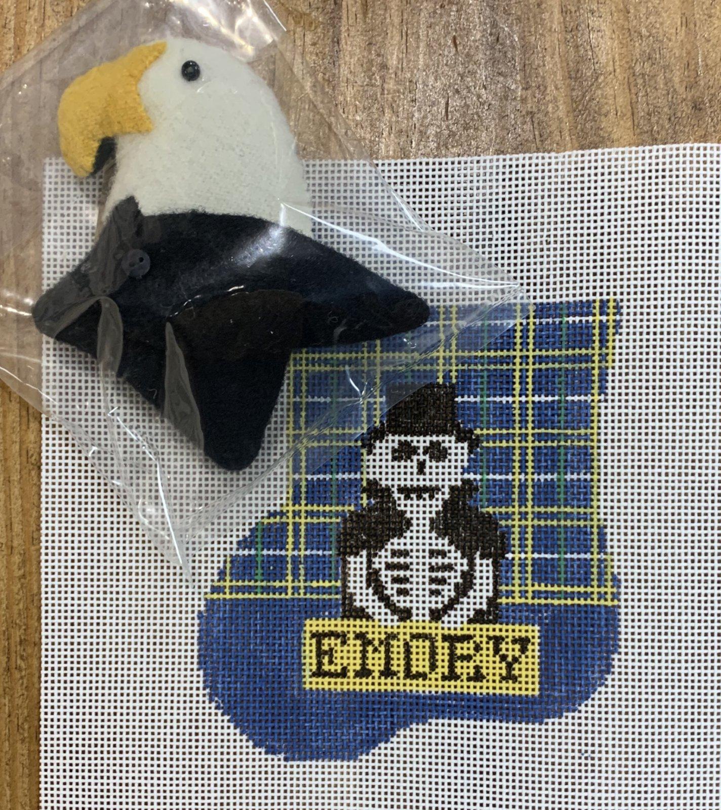 Emory Sock w/Eagle