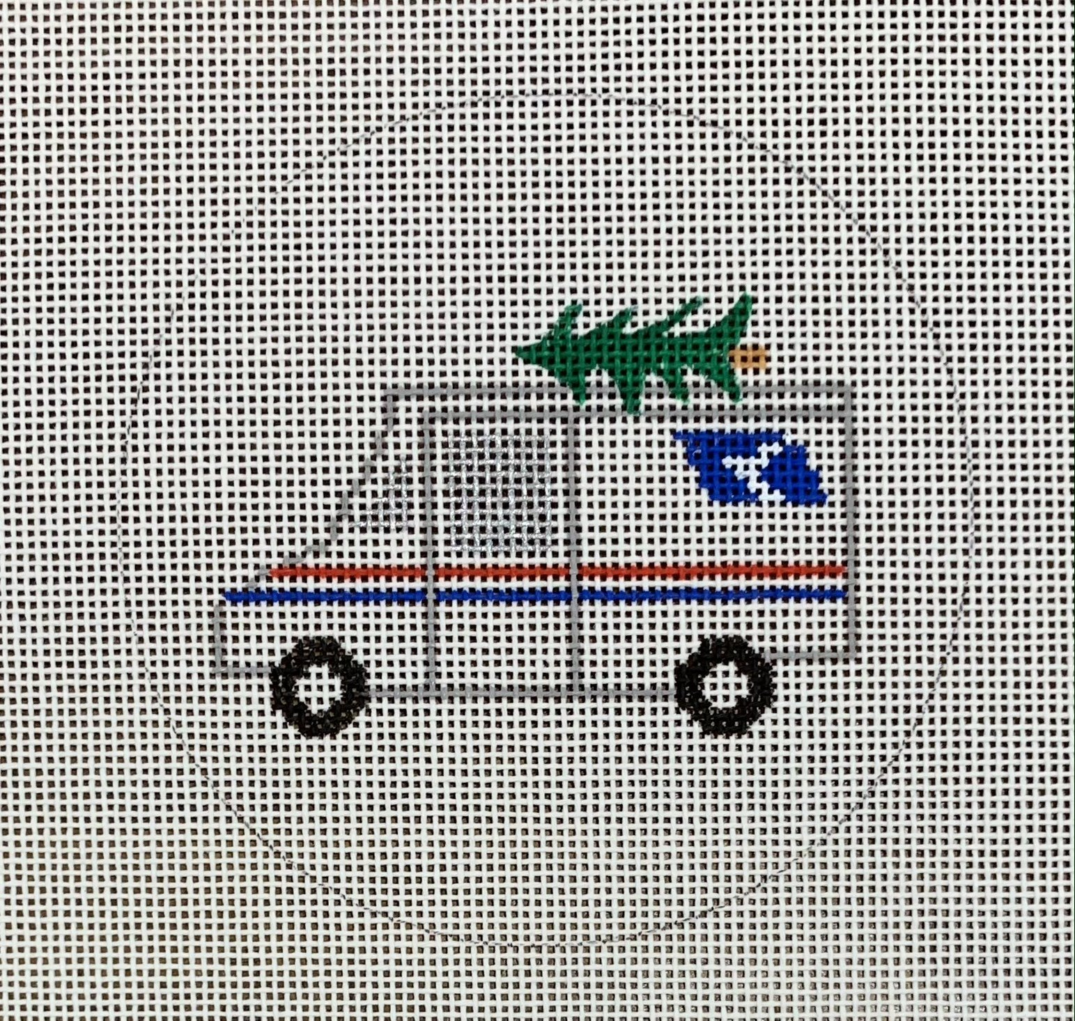Christmas Mail Truck