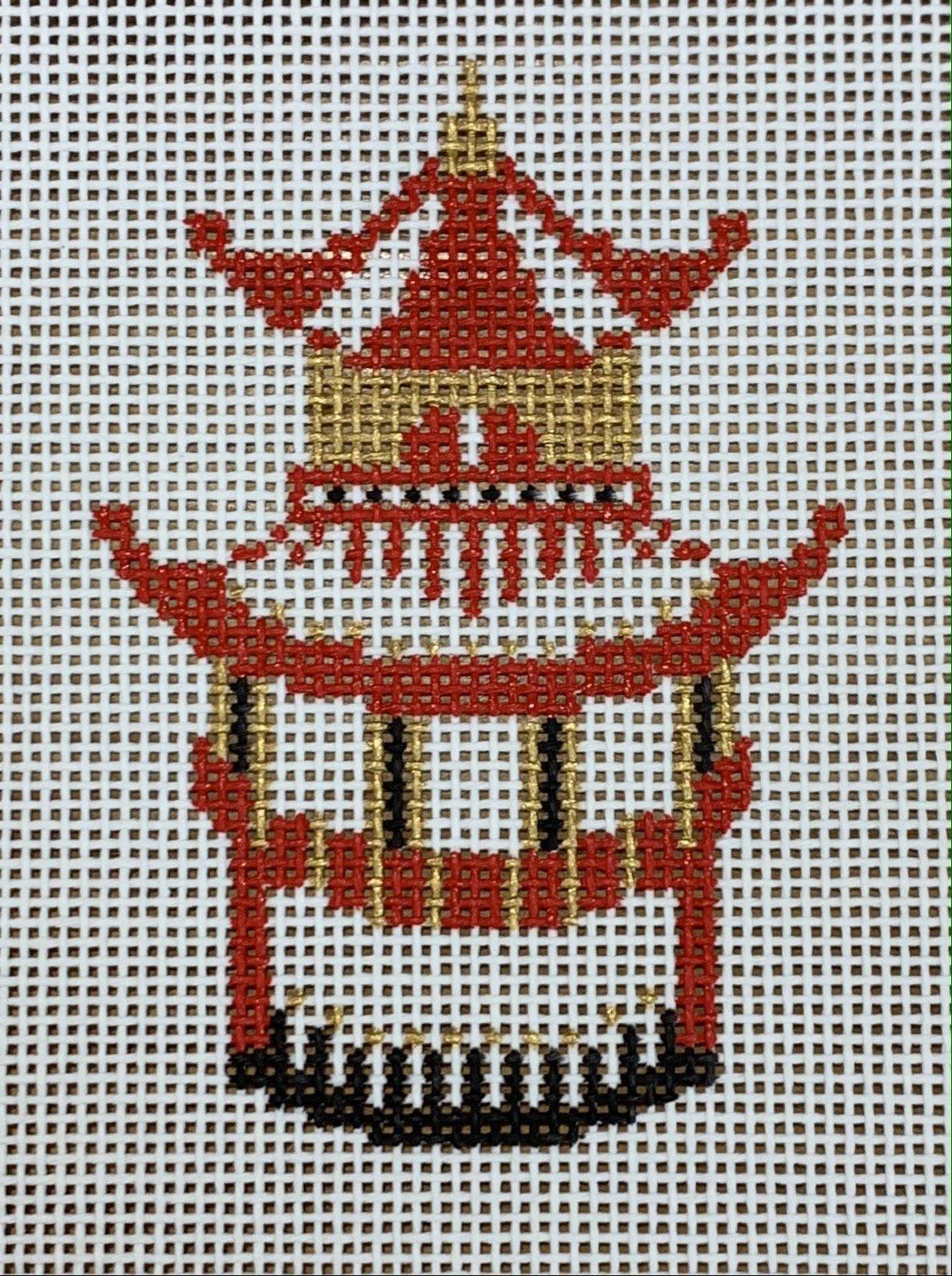 Pagoda - Red