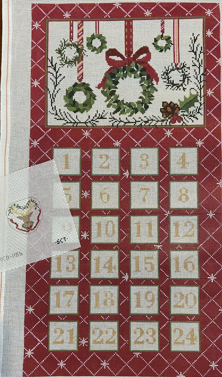 Advent Calendar w/Reindeer Ornament