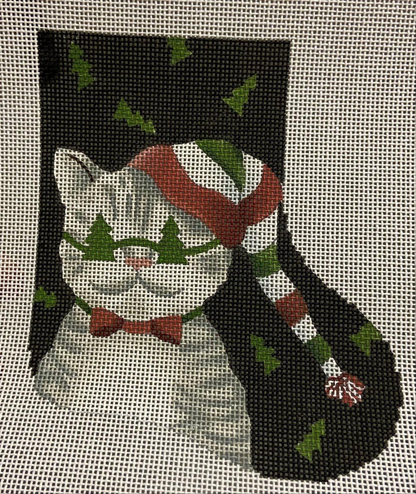 Tree Shades Kitty Mini Sock