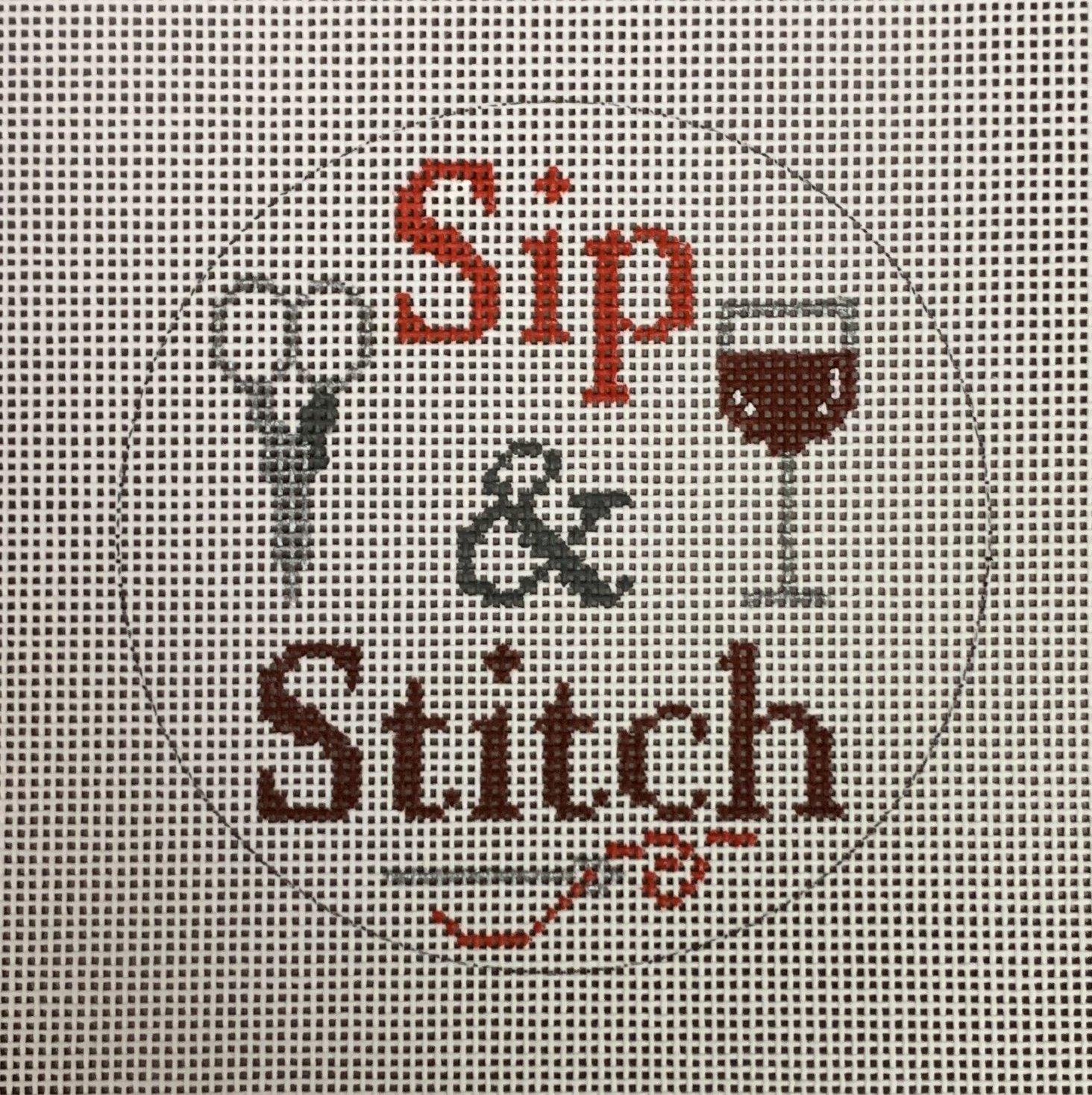 Red Sip & Stitch