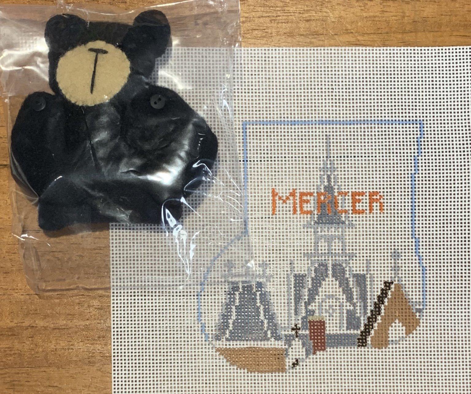 Mercer College w/ Black Bear