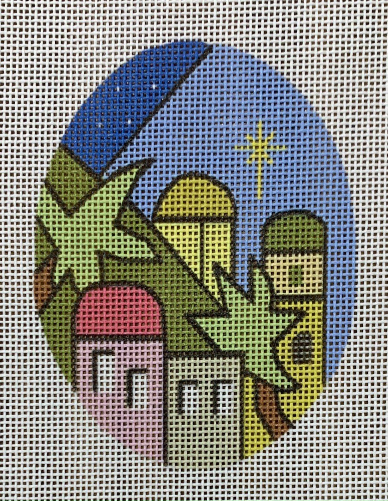 Nativity Stained Glass - Bethlehem