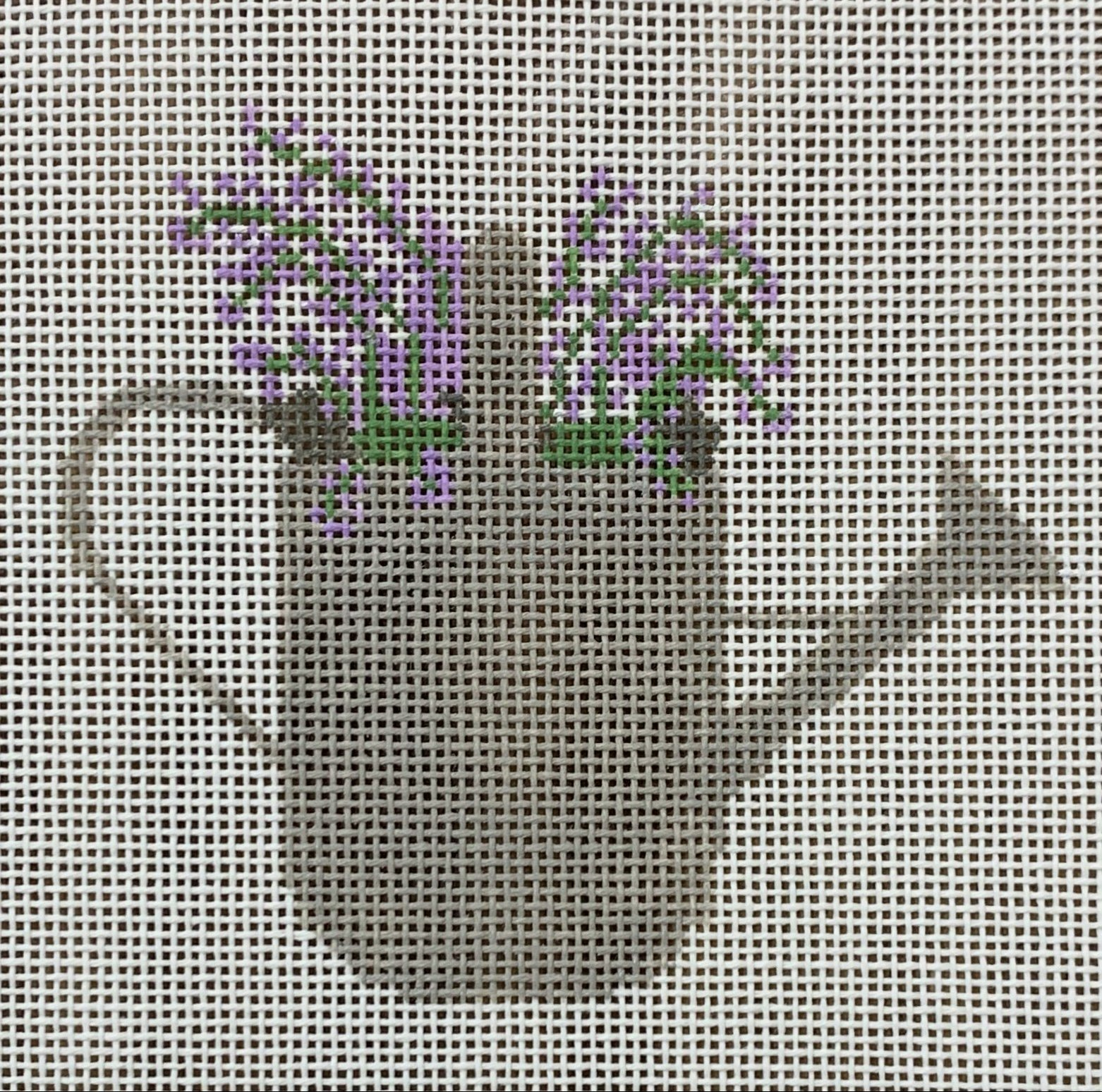 Watering Can with Lavender