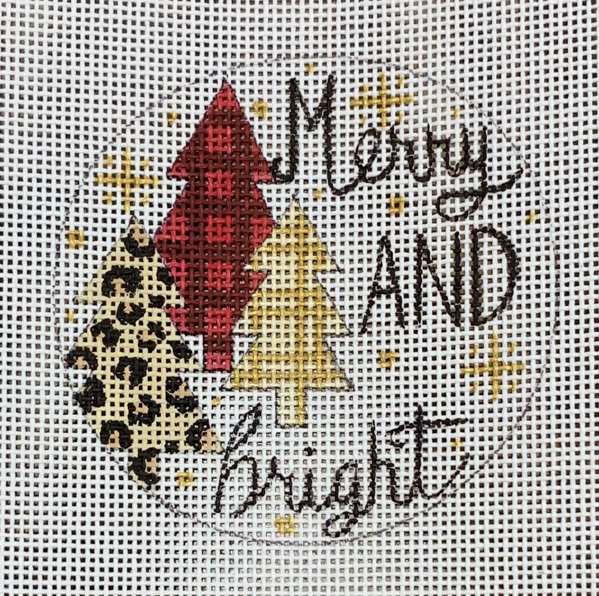 Merry & Bright Patterned Trees