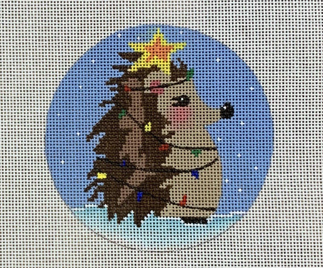 Christmas Tree Hedgehog Ornament