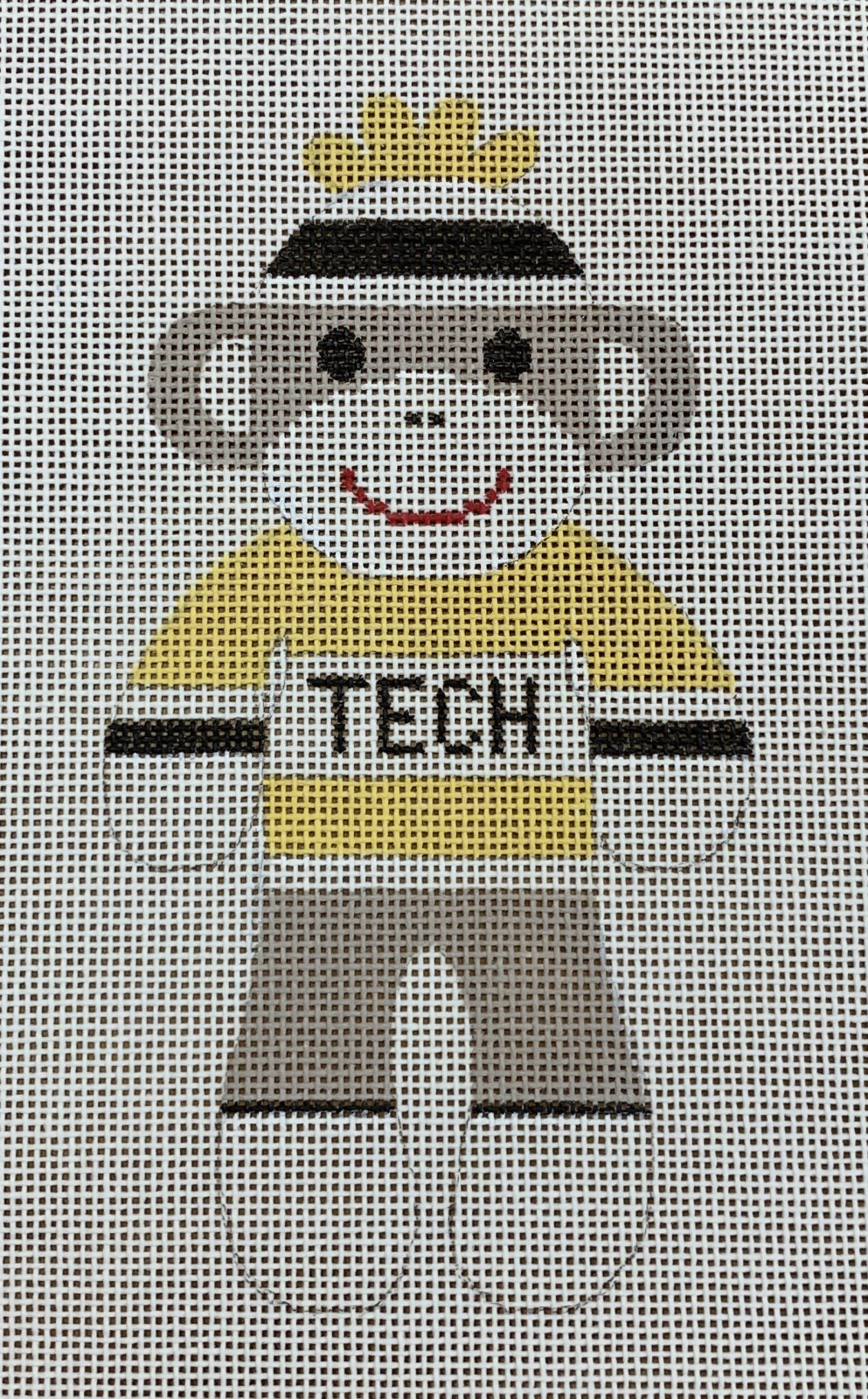 Sock Monkey - Georgia Tech
