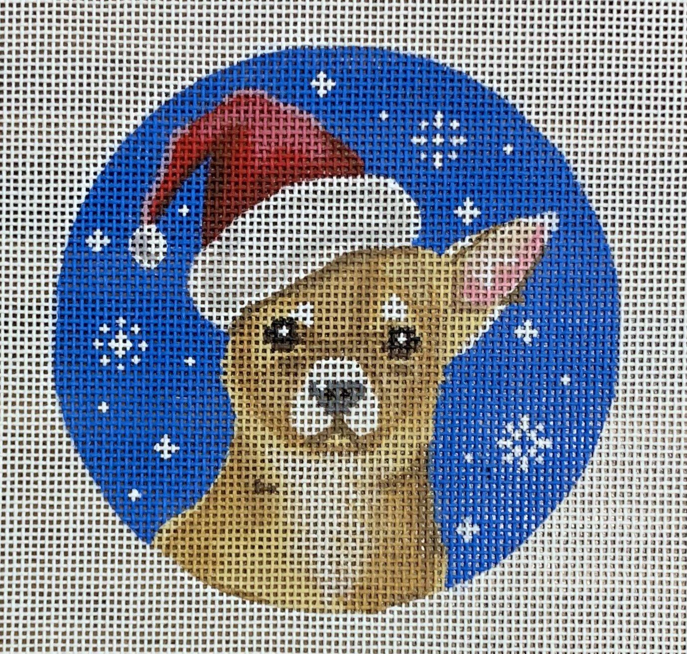 Chihuahua Santa Dog