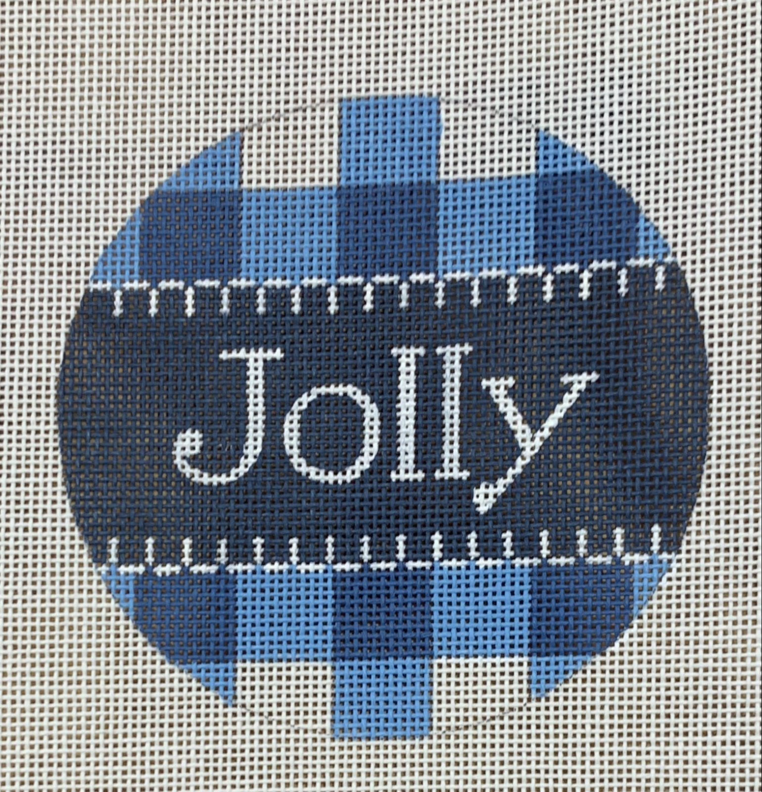 Jolly Blue Gingham