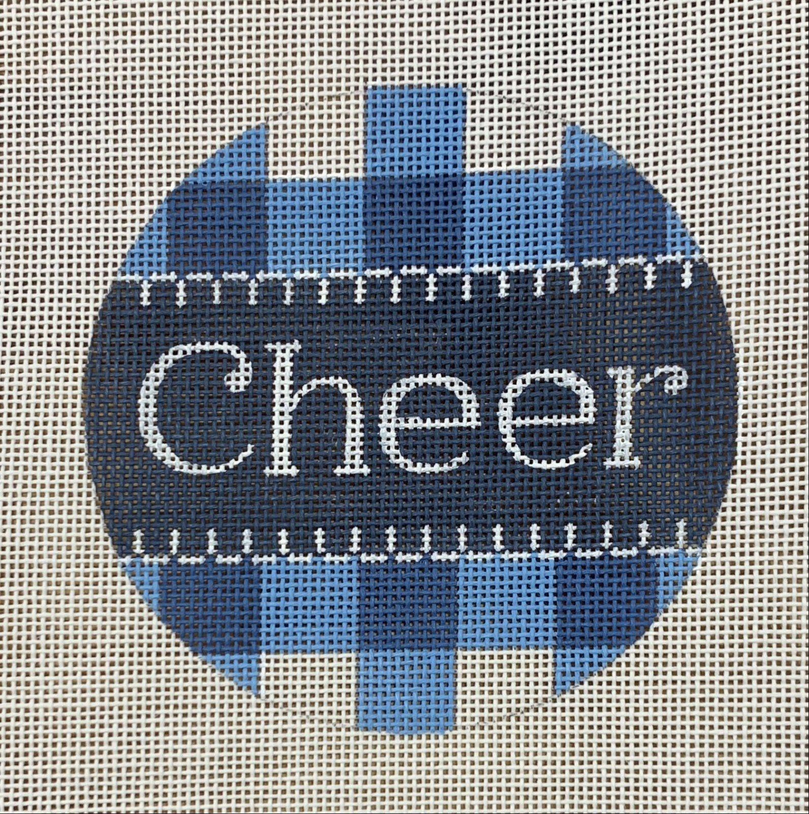 Cheer Blue Gingham