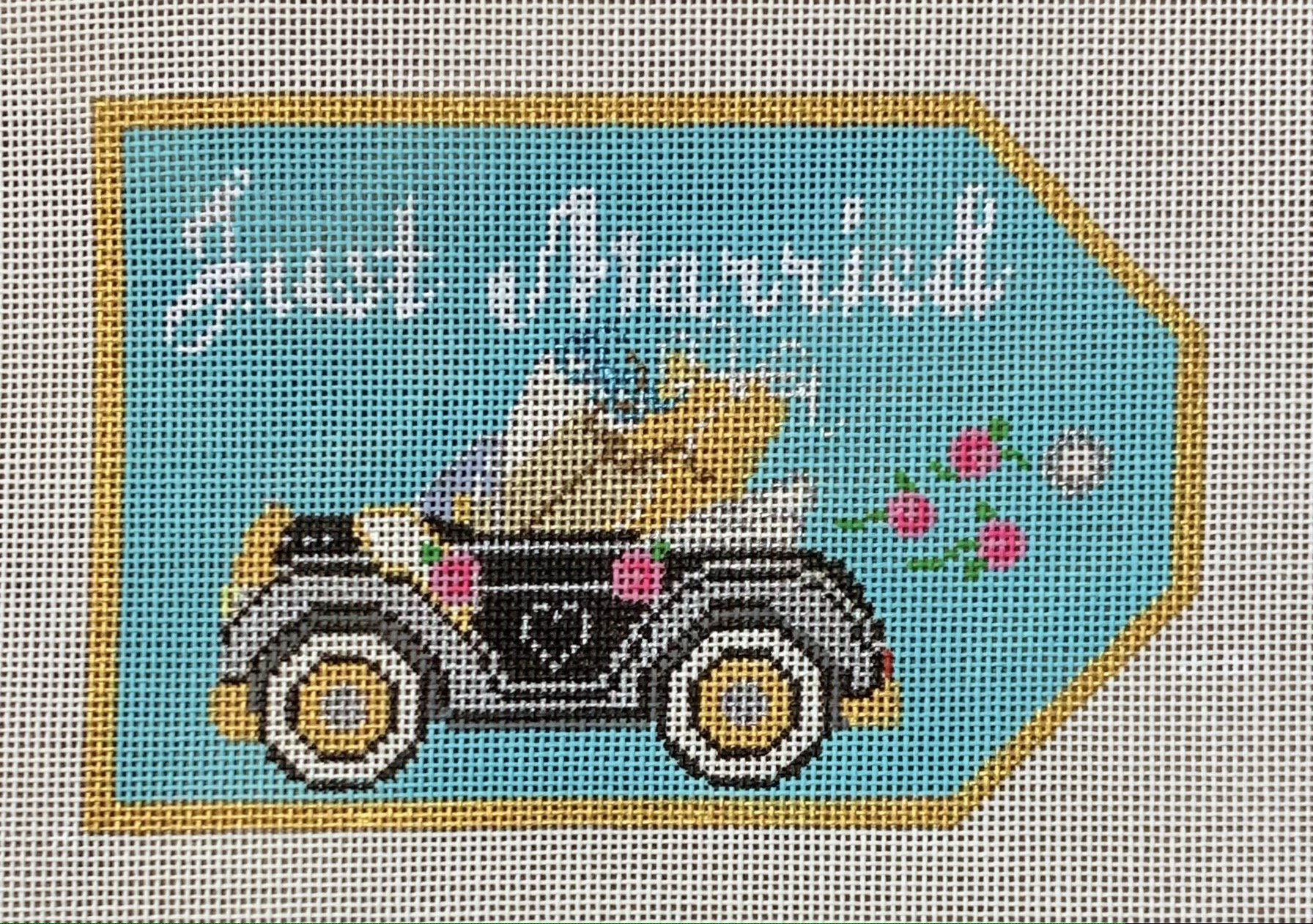 Just Married Car Tag