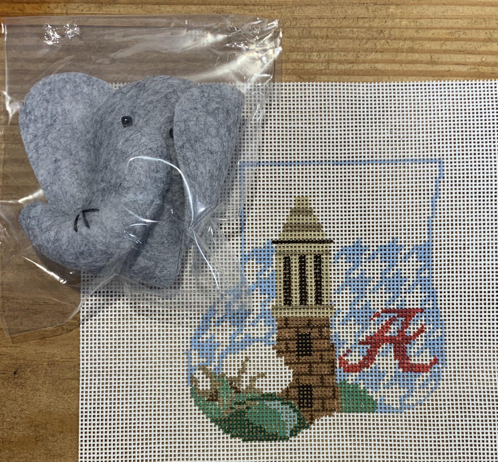 Alabama Sock w/Elephant