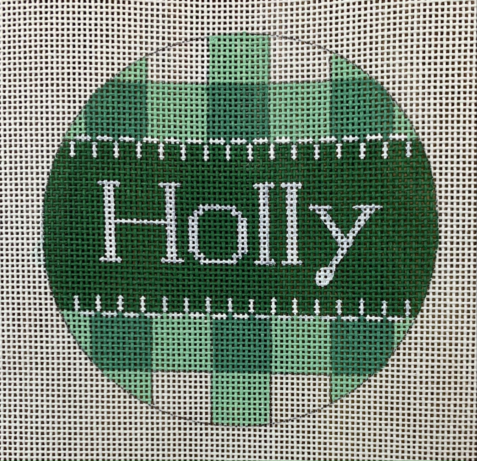 Holly Green Gingham