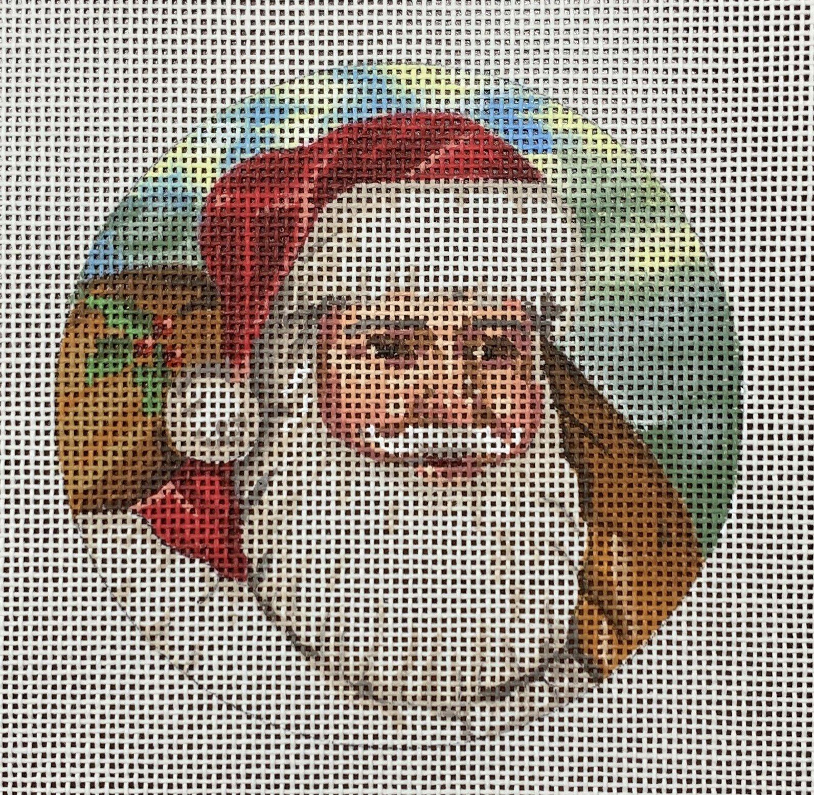 Santa Face w/ Sack