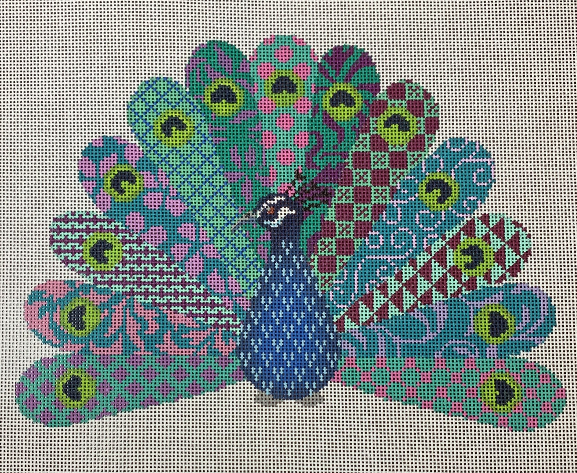 Geometric Peacock