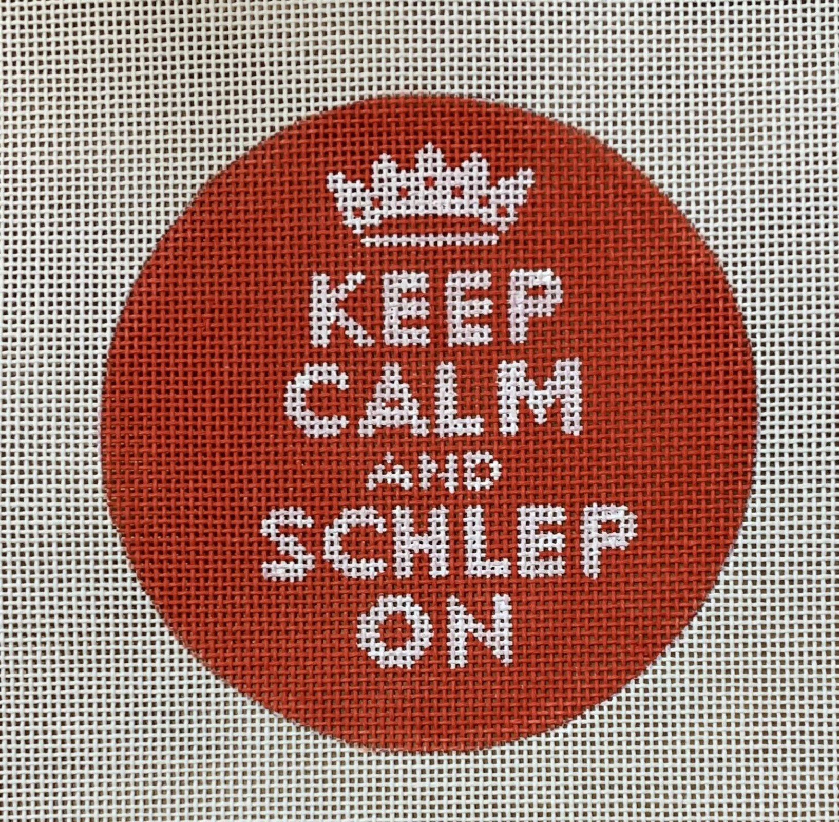 Keep Calm and Schlep On