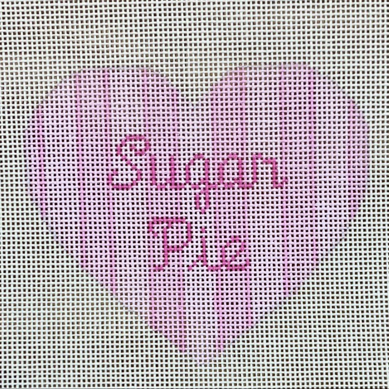 Heart Ornament - Sugar Pie