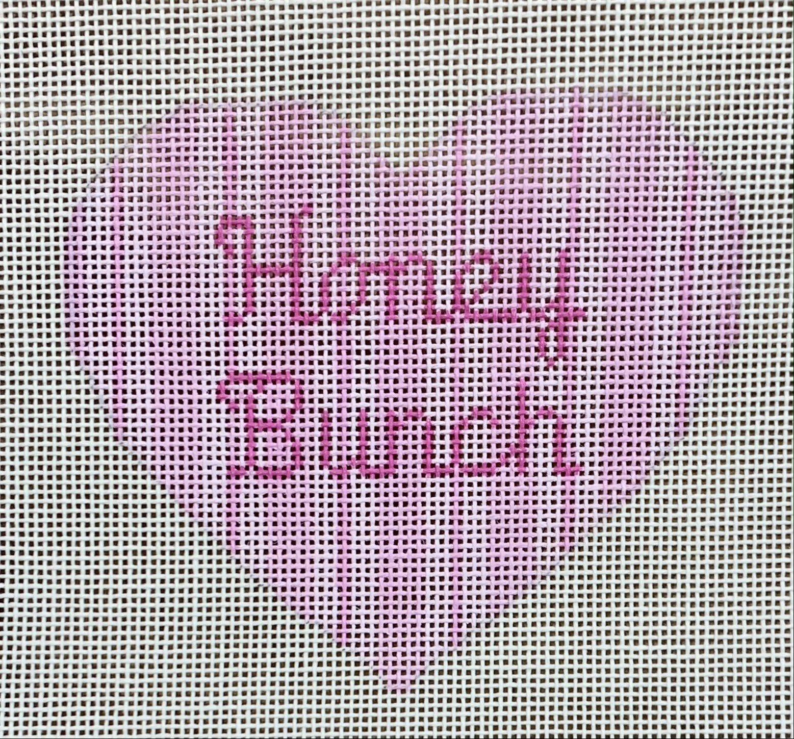 Heart Ornament - Honey Bunch